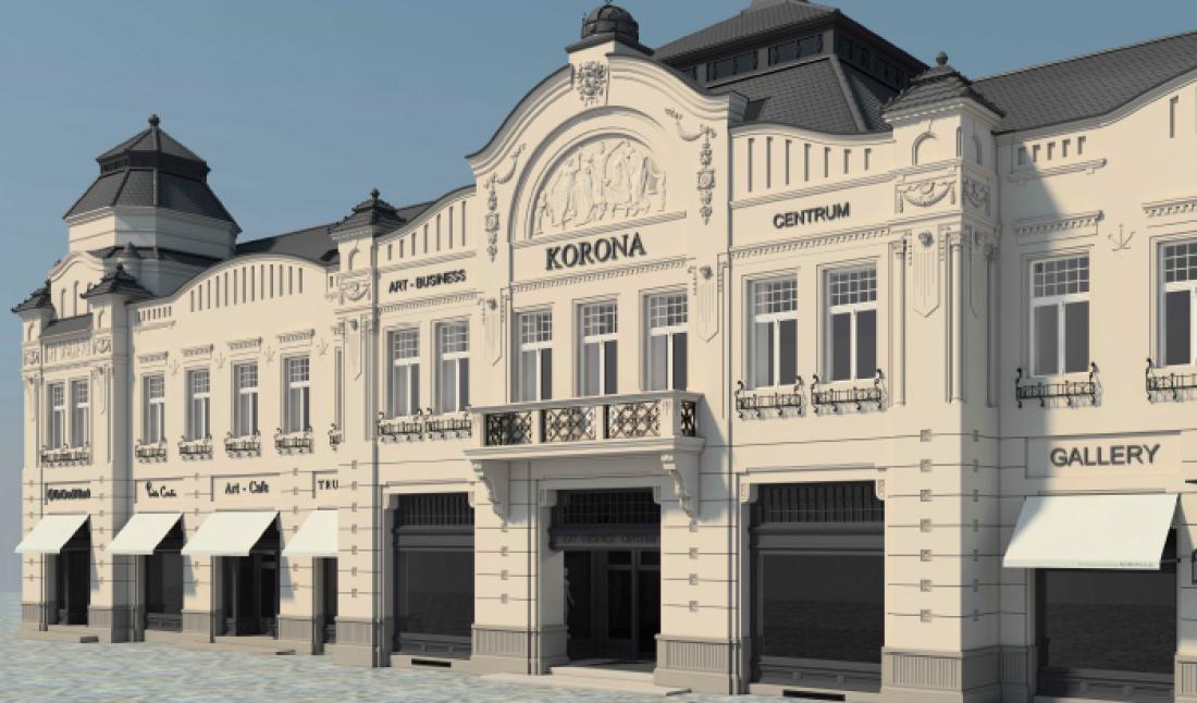 В Ужгороде откроется торговый центр Korona с зеленой зоной на крыше ... ec9ee9cdc07