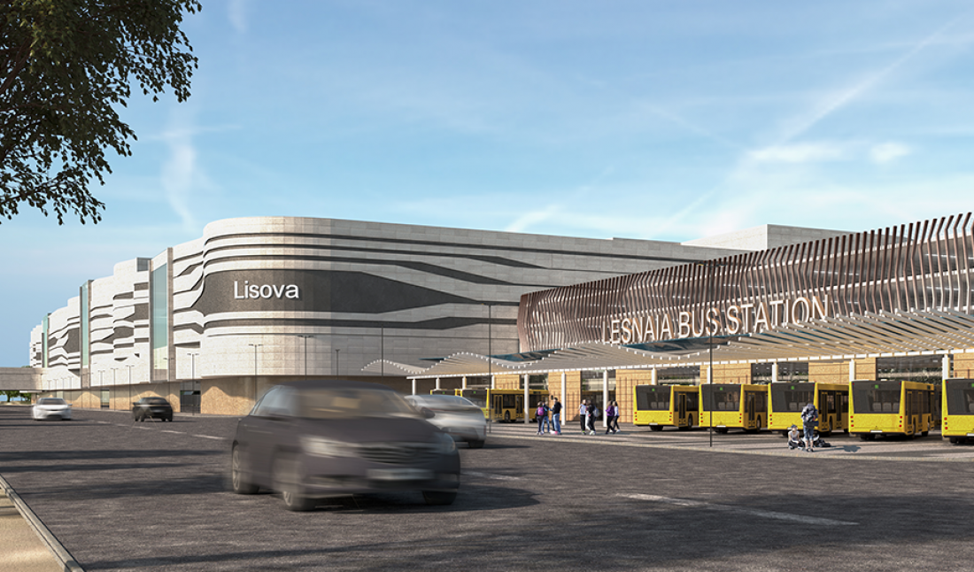 В Киеве начато строительство ТРЦ Lesnaya Mall. Проект Mandarin Plaza Вагифа  Алиева — RetailersUA