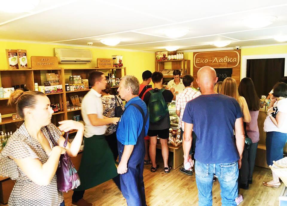 4d3388e18 Открылся новый магазин «Эко-Лавка» на Подоле: ул. Верхний Вал, 42б. Новый  франчайзинговый магазин стал 103-м в сети. Об этом сказано на  Facebook-странице ...