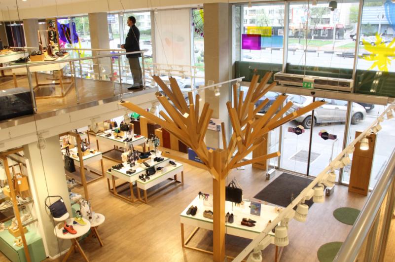c02f772db55dfb В дизайне торгового оборудования среди материалов преобладает дерево.  «Оформление интерьера под дерево — модная тенденция в архитектурном и  ритейл-дизайне, ...